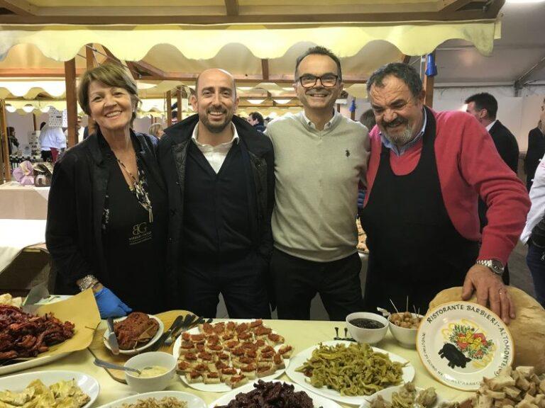 La zuppa cosentina e Barbieri protagonisti a Parma