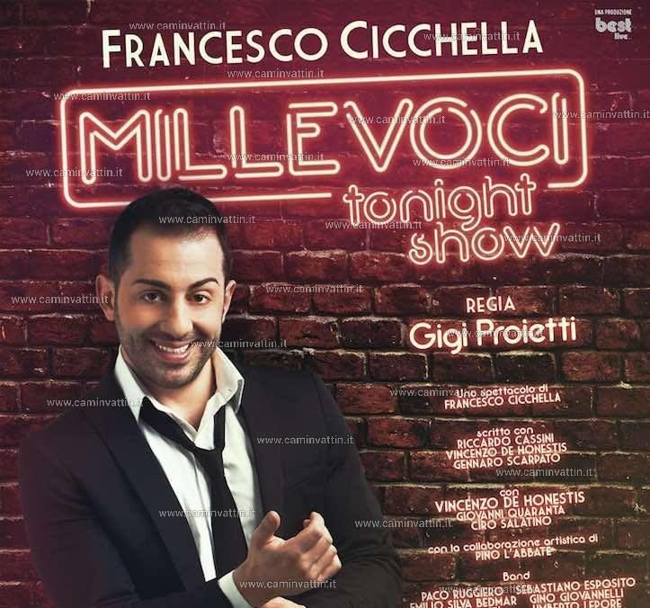 Il Teatro Metropol ospita Francesco Cicchella
