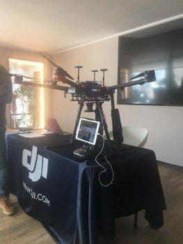 Un drone per monitorare le bonifiche