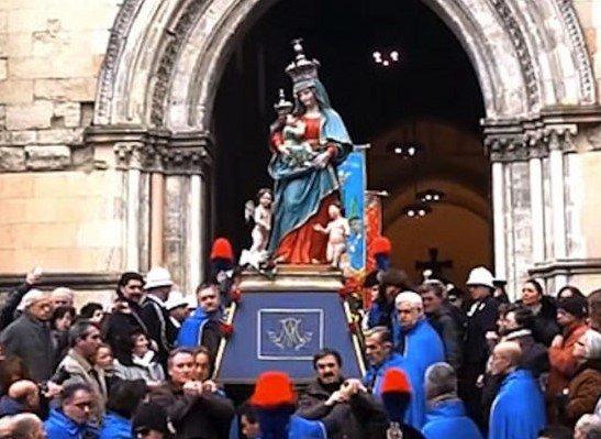 Cosenza celebra la Madonna del Pilerio