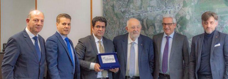 Libia Rende, l'ambasciatore incontra il sindaco Manna
