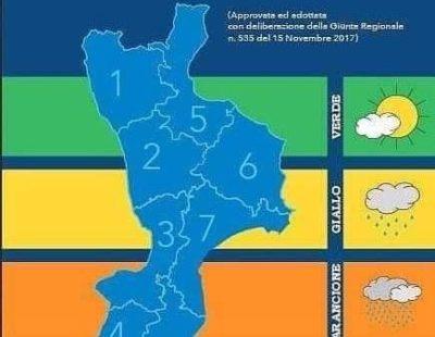 Pasquetta: dalla protezione civile arriva l'allerta meteo