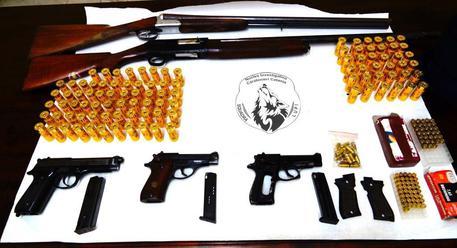 sequestro armi e munizioni nel vibonese