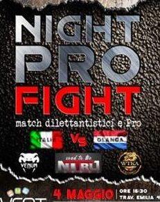 Night Pro Fight 3, l'evento di combattimento unico in Calabria