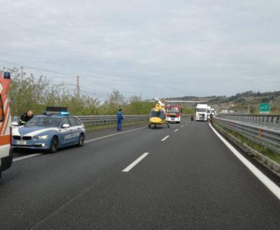 incidente auto tir autostrada A2