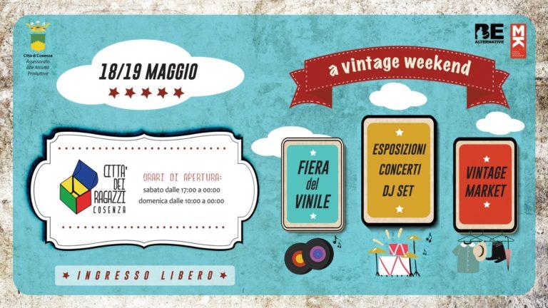 "Cosenza: ""A vintage weekend"""