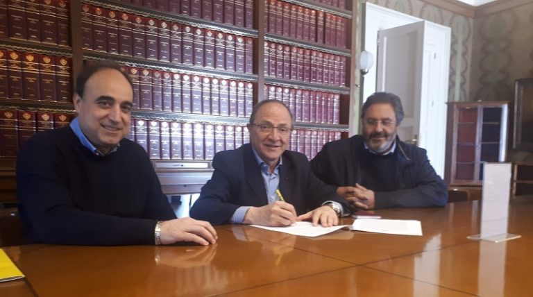 Cosenza, incontro Iacucci con presidente e direttore di Coldiretti