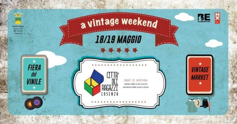 Un weekend vintage a Cosenza
