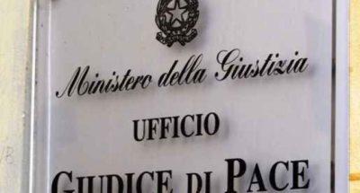sospeso dipendente giudice di pace castrovillari