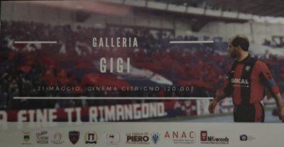 Gigi Marulla documentario mito rossoblu Cinema Citrigno
