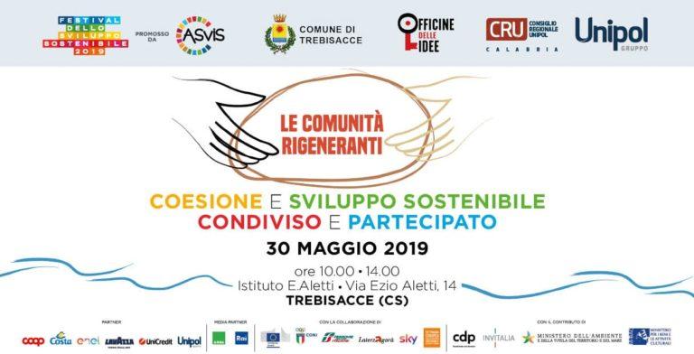"""Trebisacce: """"Le Comunità Rigeneranti – Coesione e Sviluppo Sostenibile, Condiviso e Partecipato"""""""