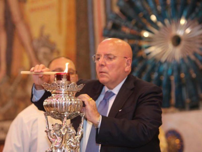 Oggi l'accensione della lampada votiva a San Francesco di Paola