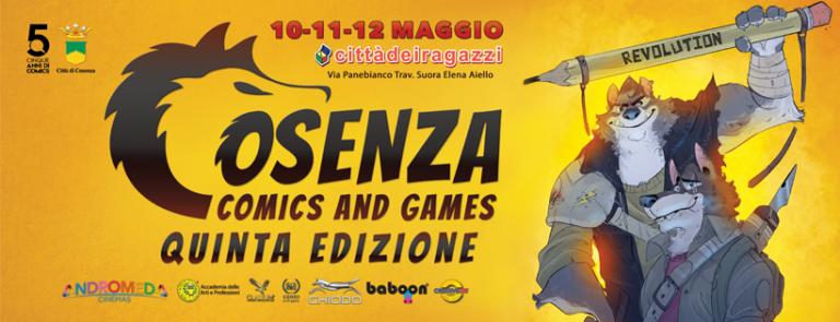 Cosenza comics and games: un weekend da non perdere