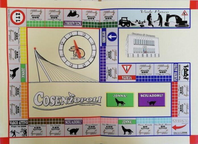 gioco tavola Cosenzopoli autori cosentini