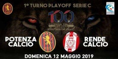 Serie C, playoff Potenza - Rende