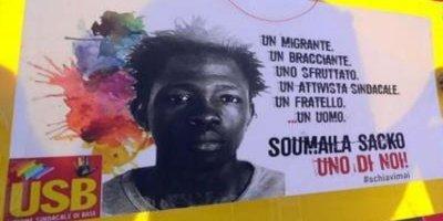Sacko,migrante ucciso a San Calogero, doppio appuntamento in ricordo