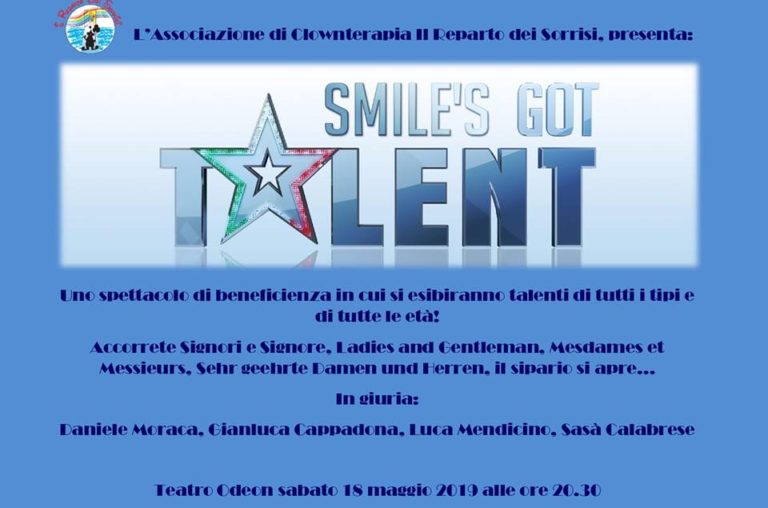 """Tutto pronto a Paola per """"Smile's Got Talent"""""""
