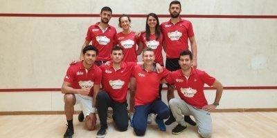 IGreco campioni d'italia giuoco squash