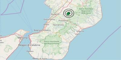 Terremoto in Calabria registrato dall'Istituto nazionale di geofisica e vulcanologia