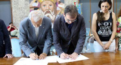 firma protocollo Cosenza-Dipignano