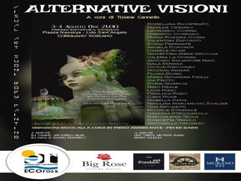"""Corigliano-Rossano, al lido Sant'Angelo """"Alternative visioni"""""""
