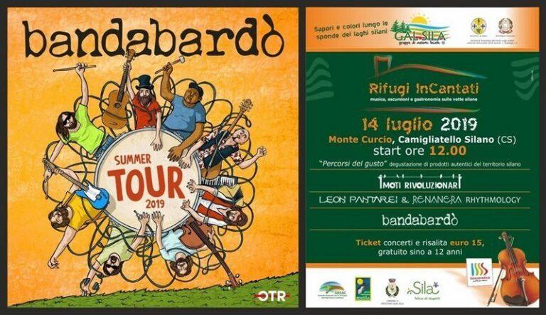 Al festival Rifugi inCantati il concerto della Bandabardò
