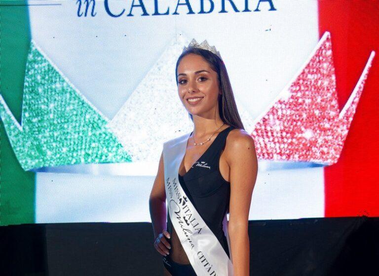 Miss Italia Calabria: la catanzarese Chiara Tomaino vince la tappa vibonese del concorso