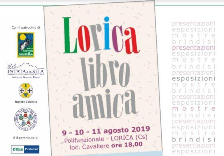 Parte l'edizione 2019 di Lorica Libro Amica