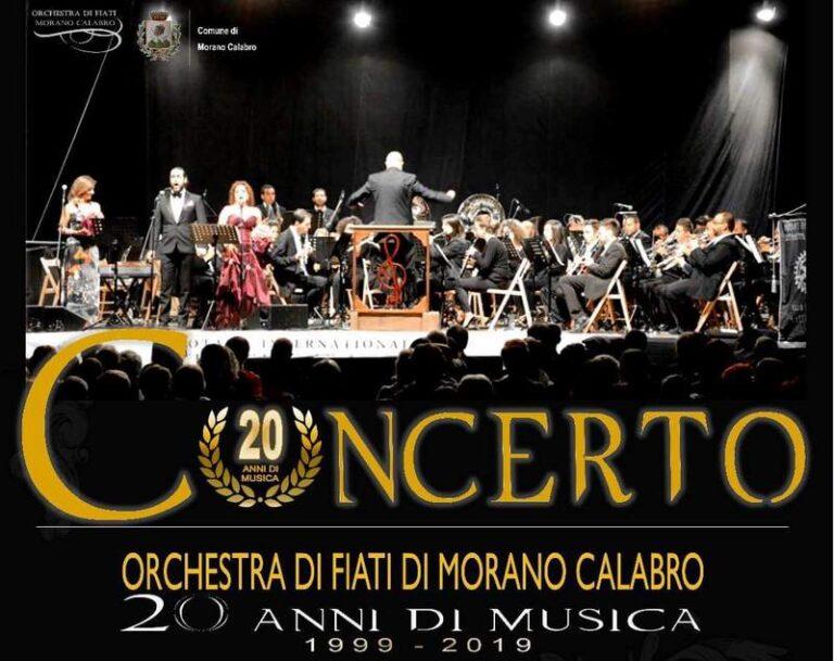 20 Anni di Musica. Un concerto evento per celebrare l'Orchestra di fiati di Morano Calabro