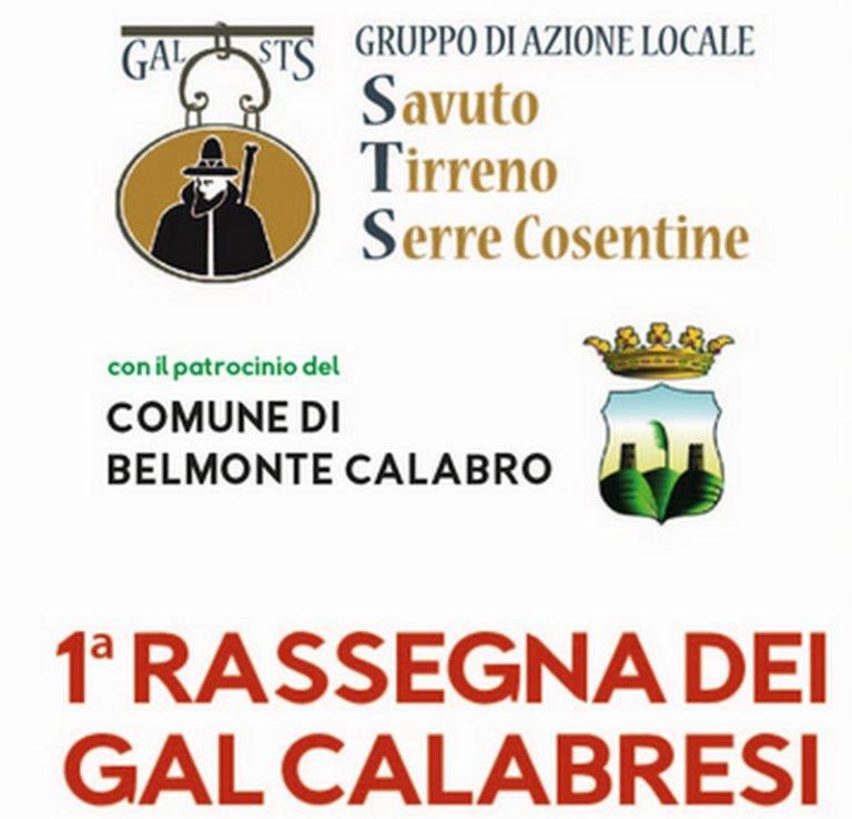 Terre di Calabria, la prima rassegna dei Gal calabresi organizzata dal Gal STS sabato 3 agosto a Belmonte Calabro.