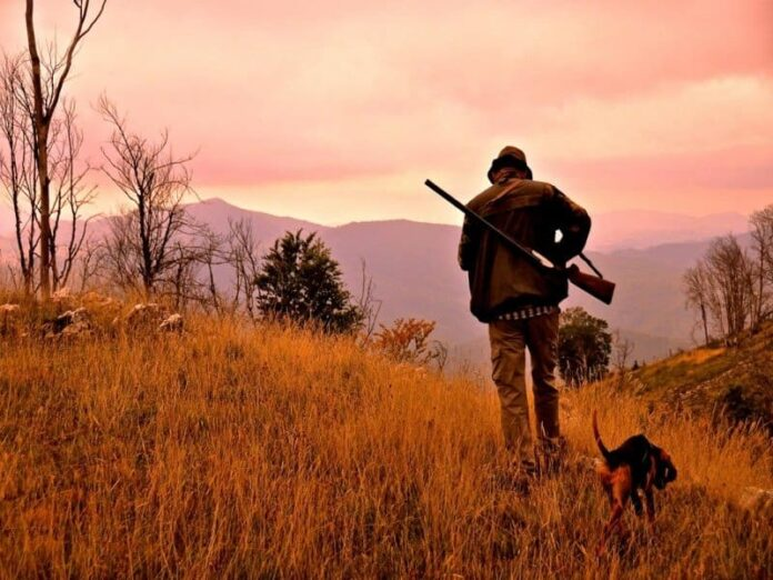 sospesa la caccia