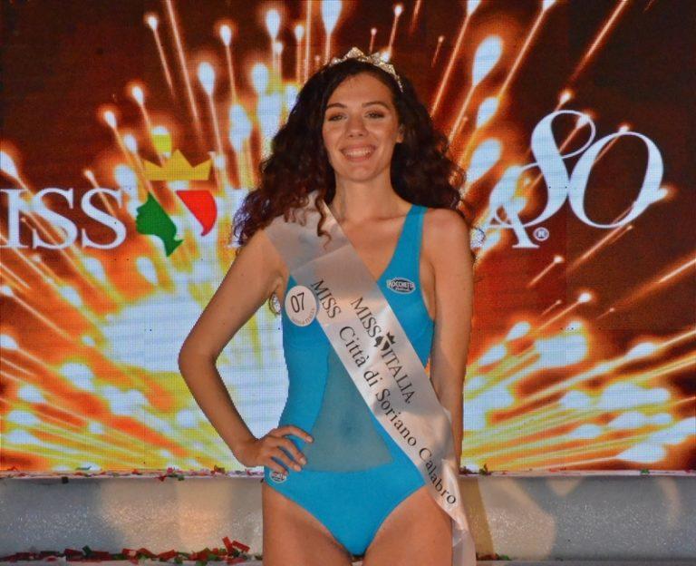 Miss Italia Calabria: a Soriano Calabro vince la cosentina Maria Grazia Costanzo