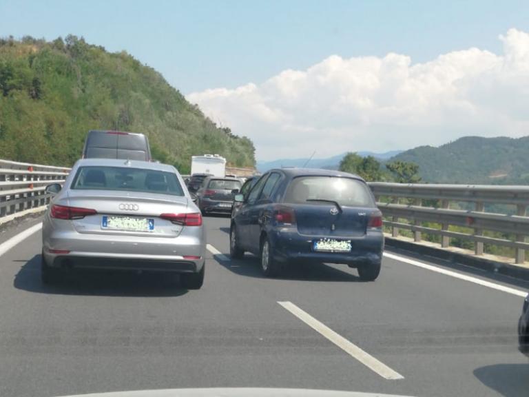 A2 Salerno-Reggio Calabria: traffico intenso nel rientro ma senza particolari disagi