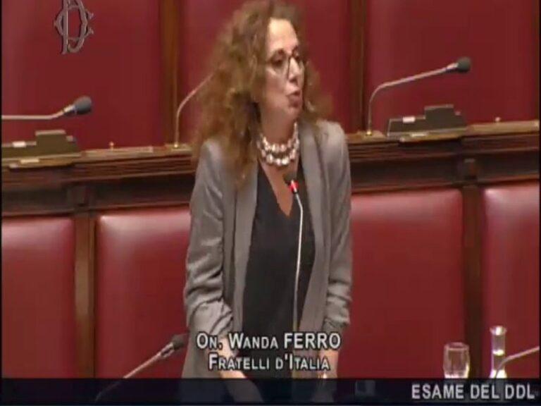 Wanda Ferro (FDI): PD e M5S bocciati dai calabresi arraffano poltrone