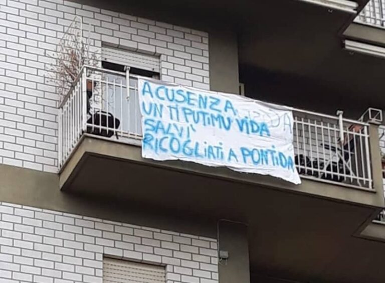 Cosenza, sempre più anti Salvini