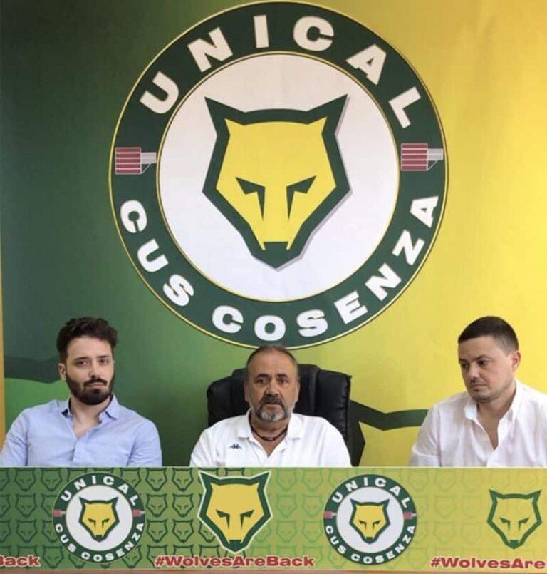 Il Cus Cosenza Calcio presenta il Mister Bria