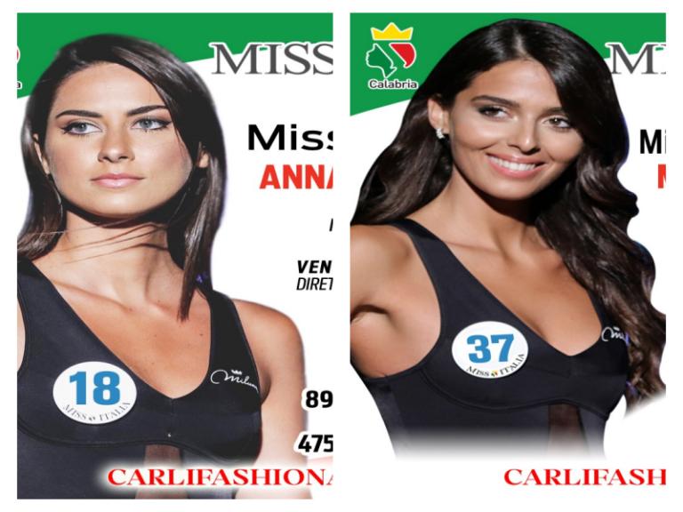 Miss Italia 2019 decretata dal televoto, due le calabresi in concorso