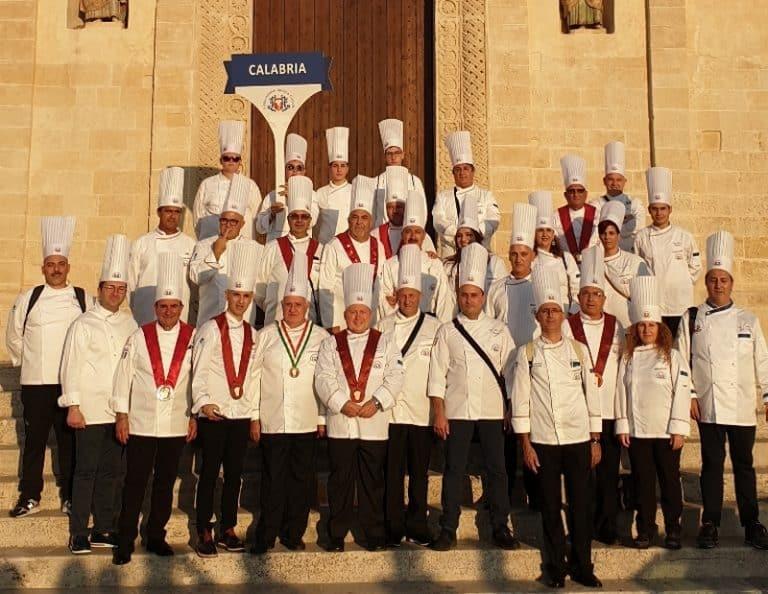 Gli chef calabresi presenti a Matera alla Festa Nazionale del Cuoco 2019