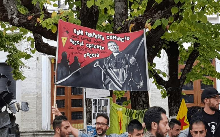 """""""L'Università dei popoli"""", Rete Kurdistan Cosenza in marcia contro  la guerra in Rojava"""