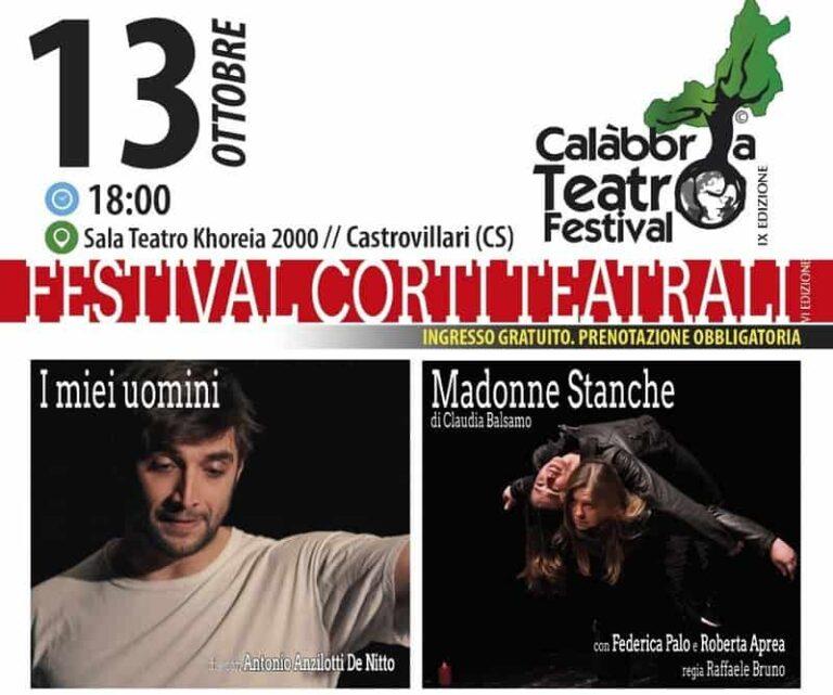 Castrovillari, al via la IV edizione del Festival dei Corti Teatrali