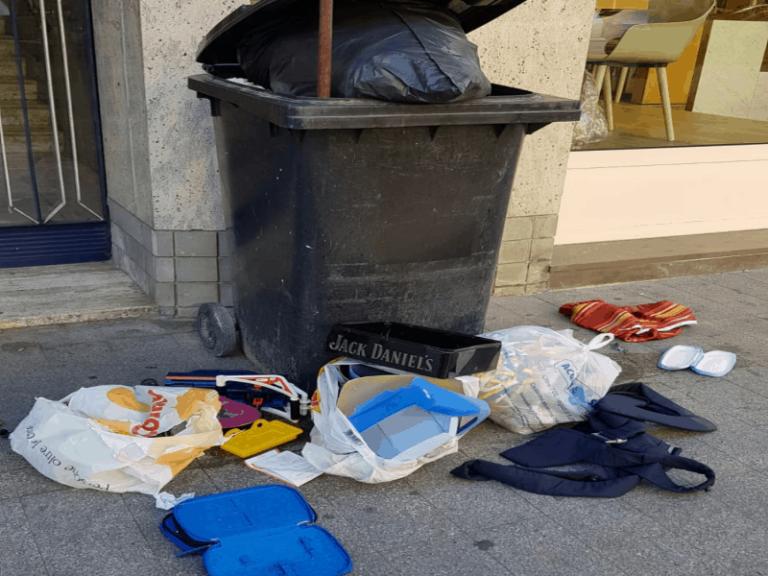 """Cosenza sommersa da rifiuti, il Sindaco: """"non è colpa nostra"""""""