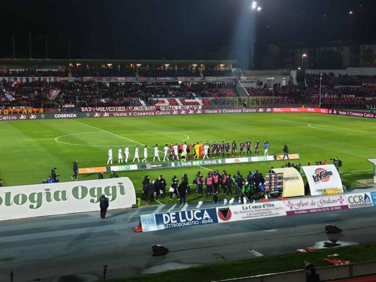 Cosenza calcio: prestazione mediocre. Finisce 1-1 con Lo Spezia al Marulla