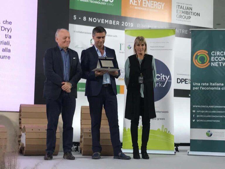 Calabra Maceri e Pellegrino premiati per lo sviluppo sostenibile