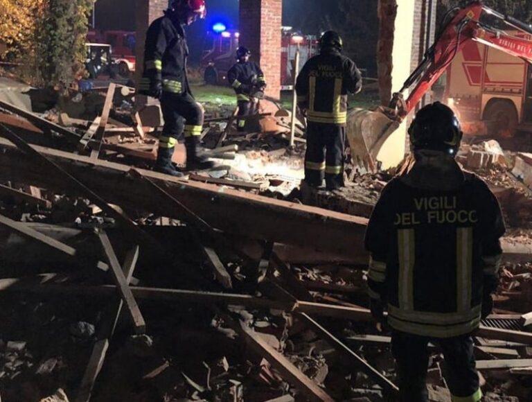 Esplosione nell'Alessandrino, tra le vittime anche un vigile del fuoco calabrese