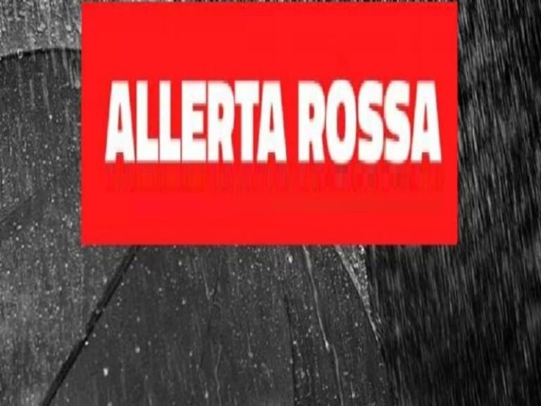 Ancora maltempo sulla Calabria: prosegue l'allerta rossa