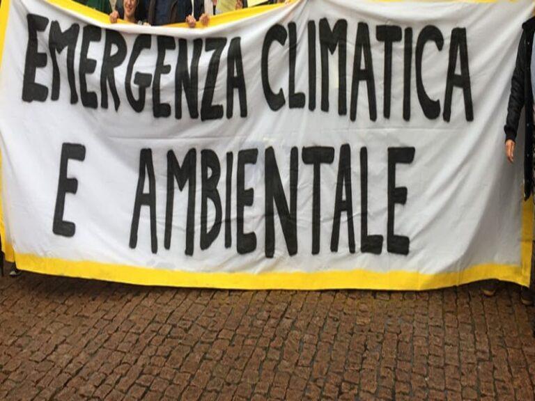 Emergenza climatica e ambientale, la Giunta approva la dichiarazione