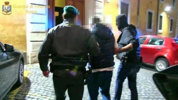 gdf arresto narcotrafficante