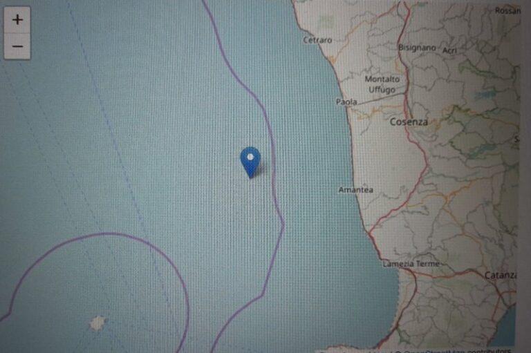 Calabria ballerina, tre scosse di terremoto nelle ultime ore