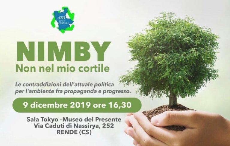 Il 9 dicembre convegno a Rende su discariche ed ecodistretto