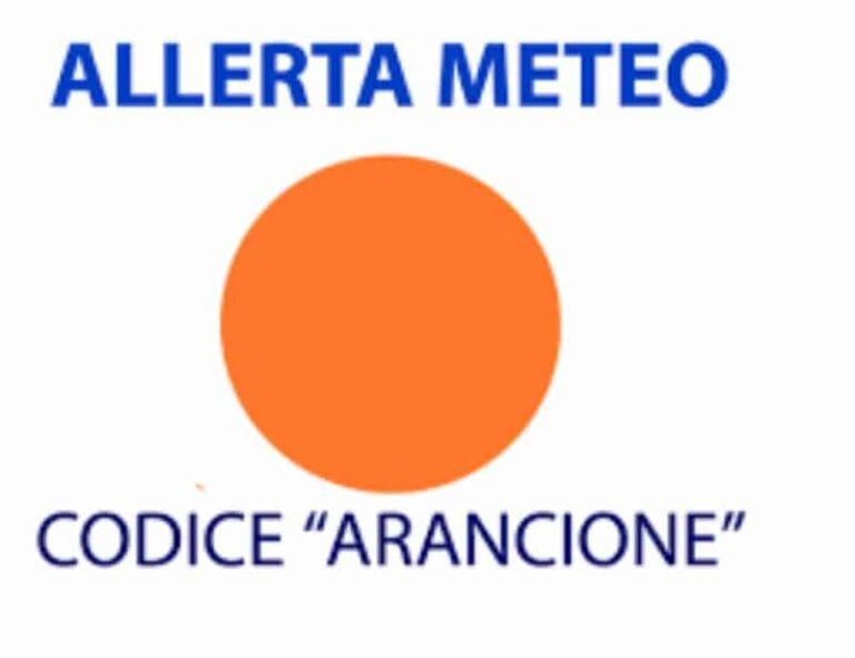 Allerta meteo arancione su Cosenza